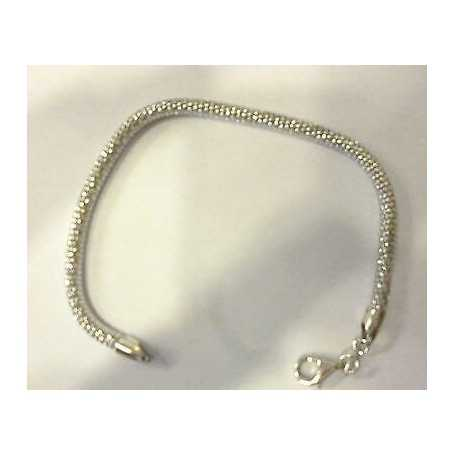 BRACELET SILVER 925 RHODIUM-PLATED WHITE GOLD