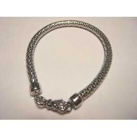 BRACELET SILVER 925 RHODIUM-plated WHITE GOLD VALENTINE's day CHRISTMAS EASTER