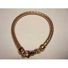 BRACELET SILVER 925 RHODIUM with PINK GOLD VALENTINE's day CHRISTMAS EASTER