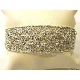 BRACELET STROILI SILVER 925 RHODIUM STONES, RHINESTONE AS DIAMONDS