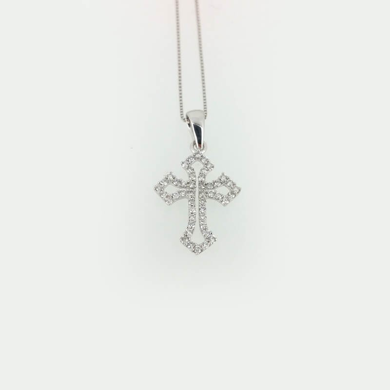 The cross-diamond carat 0.25 grams 1.70