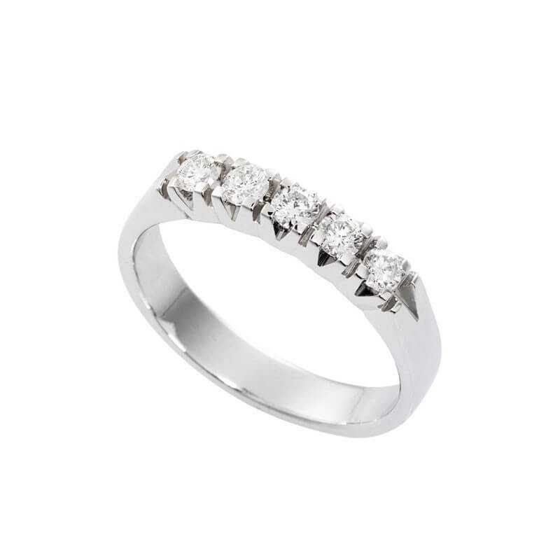 RING ETERNITY ETERNITY DIAMONDS, Carat Total 0.50 VS clarity Color F