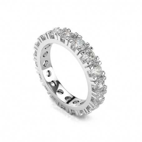 VERETTA ring with total carat diamonds 3.60 purity VS1 color F