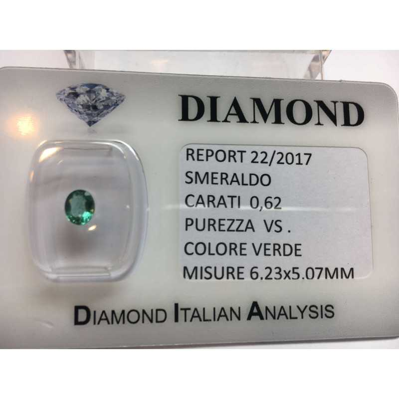 EMERALD COLOMBIA CERTIFIED 0.62 CARAT BLISTER LOT 1.00 1.50