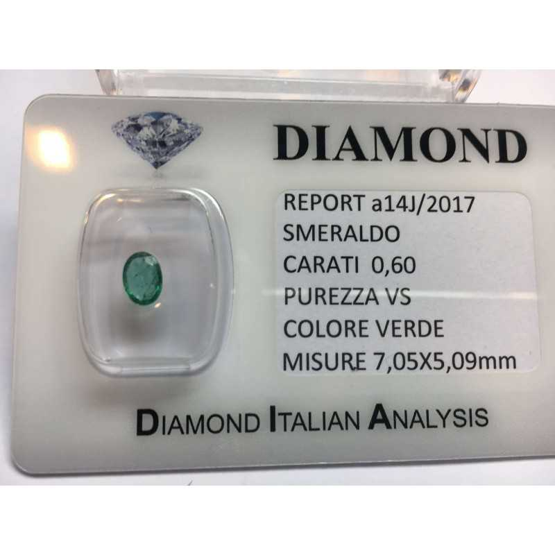 EMERALD COLOMBIA CERTIFIED 0.60 CARAT BLISTER LOT 1.00 1.50