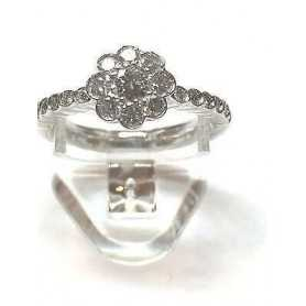 RING with DIAMONDS Carat 0.65 VS clarity, Color G