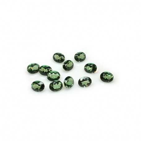 TOPAZ GREEN OVAL 1.50 Carat 7.0 x 9.0 mm