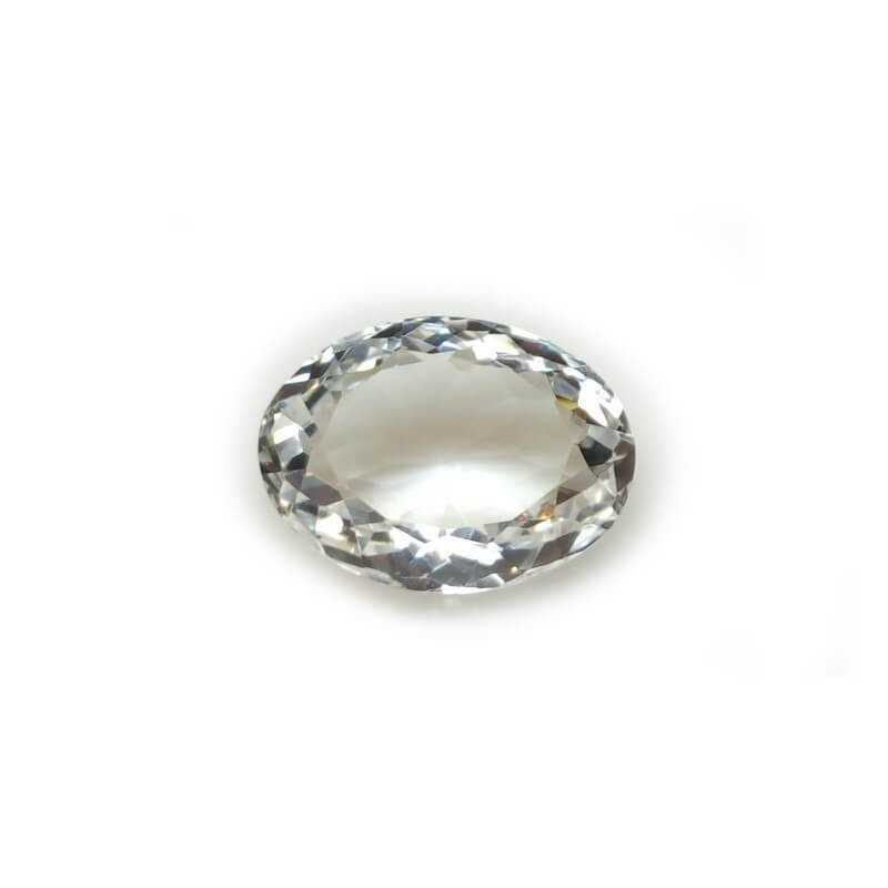 WHITE TOPAZ OVAL 30.73 Carats 18.00 x 24.00 mm
