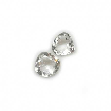WHITE TOPAZ DROP 21.50 Ct 19.00 x 19.00 mm