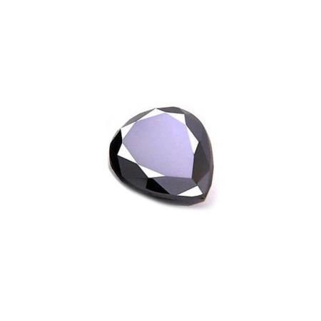 BLACK DIAMOND DROP-CUT 2.56 ct