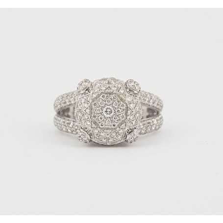 Diamond ring 1.00 carat vs F color