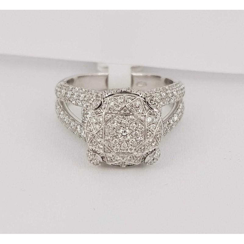 Ring diamonds 1.00 carat vs f color
