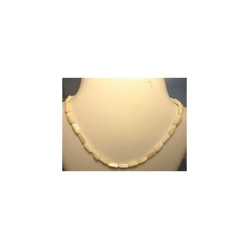 NECKLACE WITH PEARLS, MOTHER-OF-PEARL AUSTRALIA 94.50 CARATS