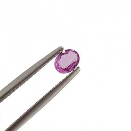 PINK SAPPHIRE OVAL CUT 1.61 Carat 6x8 mm