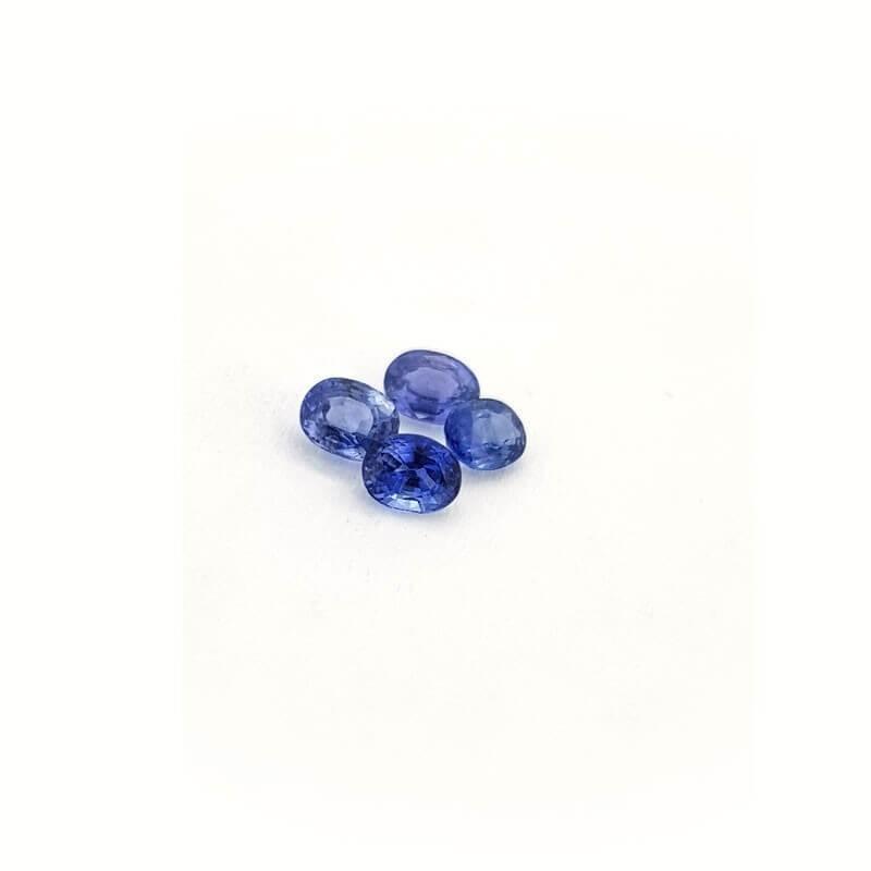BLUE SAPPHIRE OVAL CUT 0.25 Ct 3x4 mm