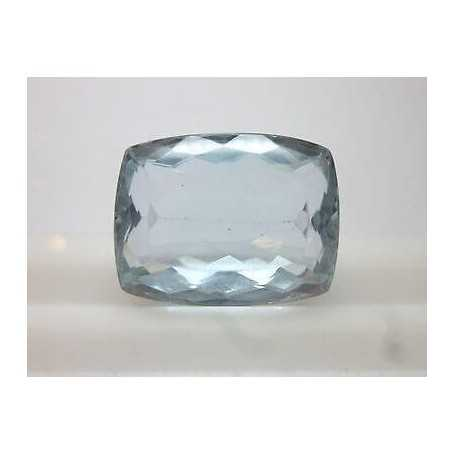 CUT AQUAMARINE CUSCION 23,43 CARAT - 60% DISCOUNT