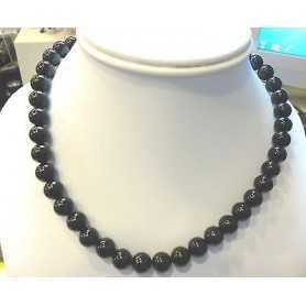 NECKLACE ONYX 40 CM CT 178 MM 8