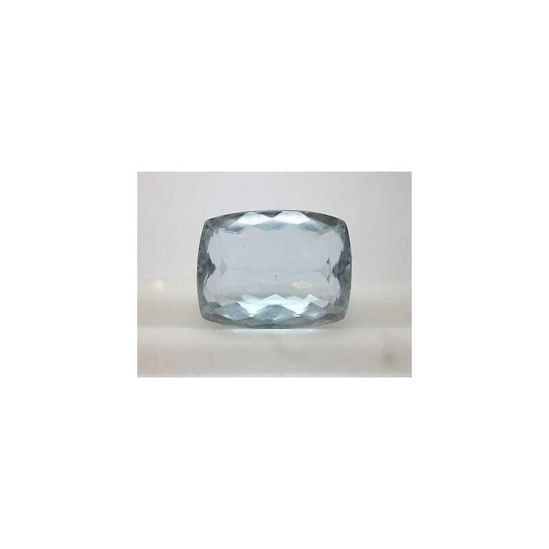 CUT AQUAMARINE CUSCION 30,81 CARAT - 60% DISCOUNT