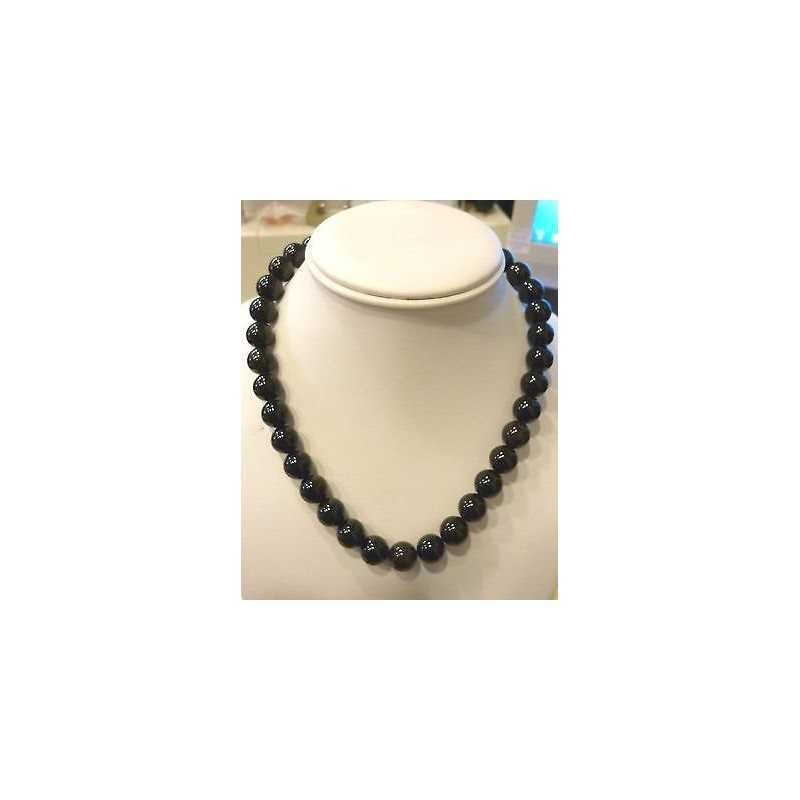 COLLIER ONYX 40 CM DE CT 291 MM 10,50