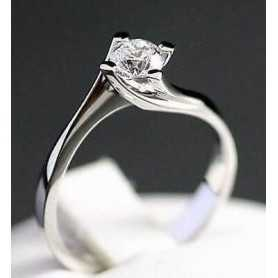 SOLITAIRE RING Carat 0.20 0.30 0.40 - Model (FRANCA)
