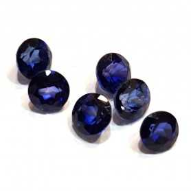 BLUE SAPPHIRE NATURAL ROUND 0.30 CARATS, with CERTIFICATE