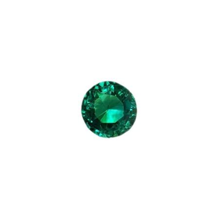 Green Topaz round cut 7.08 carat 10.00 mm