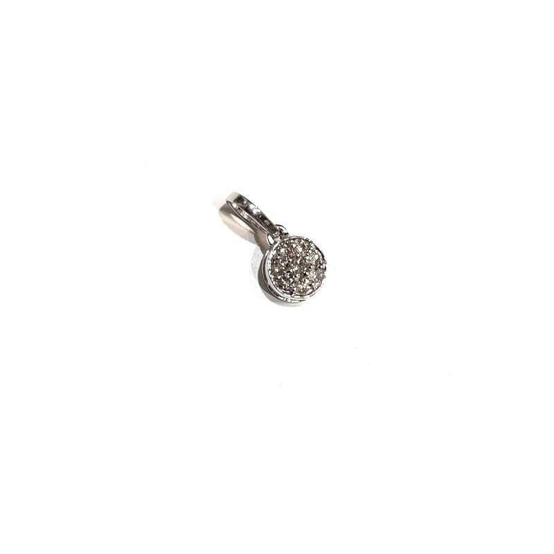 Pendant in 18kt White gold with DIAMONDS 0.21 ct Total - Model (ARTEMIS)