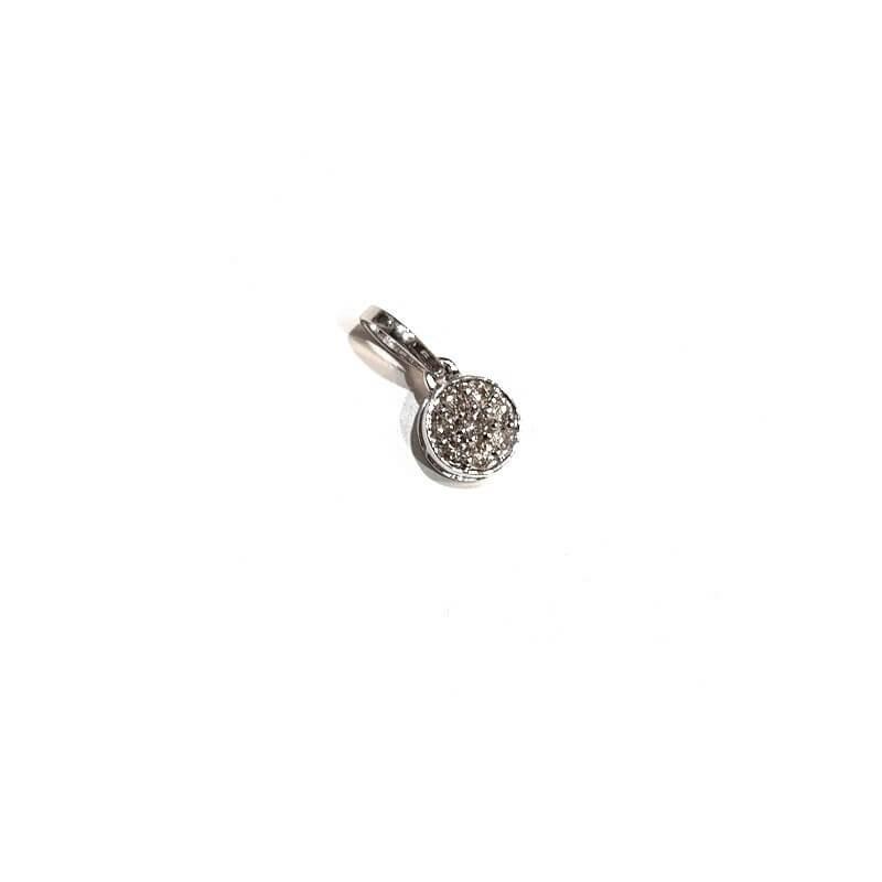 Pendentif en or Blanc 18 carats avec des DIAMANTS de 0,21 ct Total - Modèle (ARTEMIS)