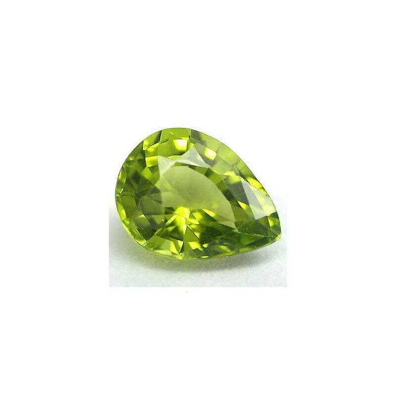 Péridot Drop-cut 1.09 carat 5.79 x 8.08 mm
