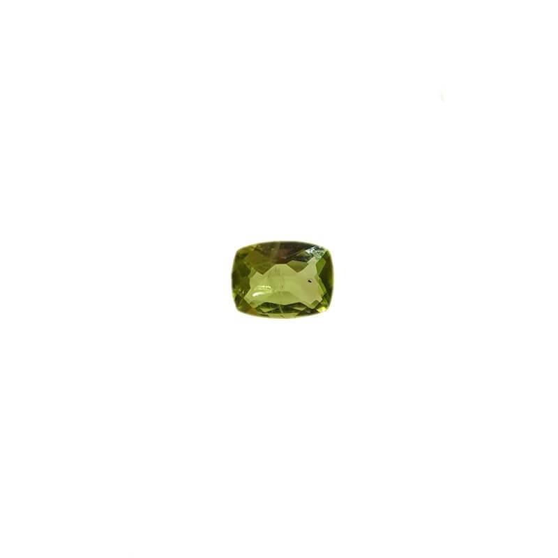 Peridoto taglio Radiant 1.36 carati 8.08 x 6.11 mm