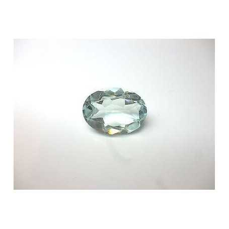 AQUAMARINE OVAL CUT 11.30 CARATS - 60% DISCOUNT