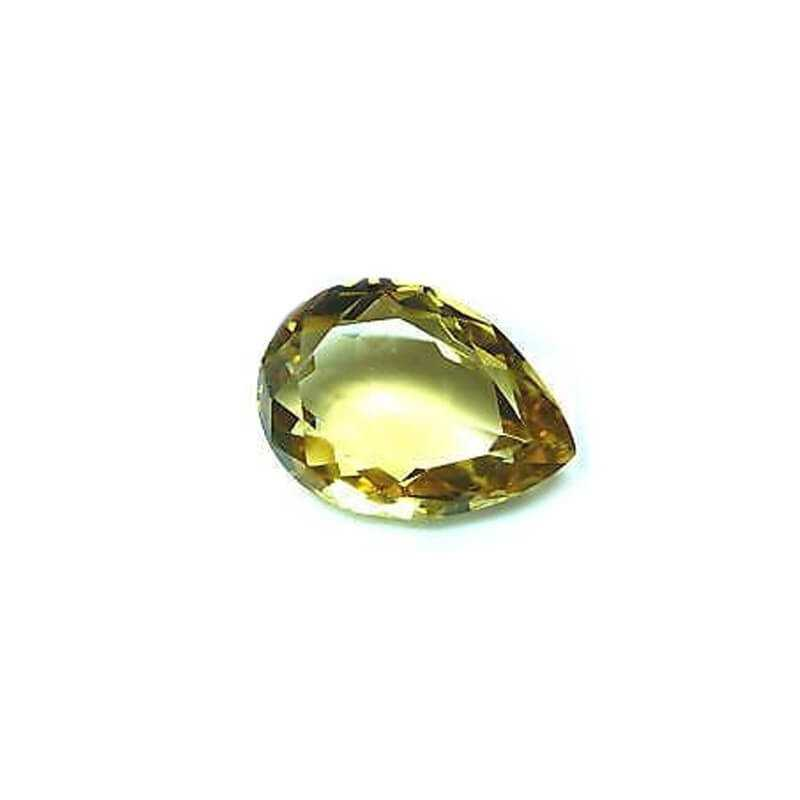 CITRINE JAUNE DROP 247 MESURE CARAT 60x41mm