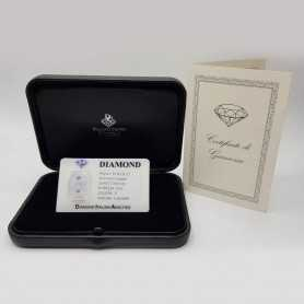 COUPLE DIAMONDS in Blister Certified 0.60 ct Total VS1 F - OFFER!