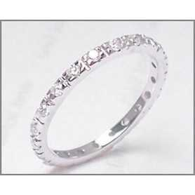 ETERNITY RING, ROUND DIAMONDS - From 0.28 to 0.35 CARATS