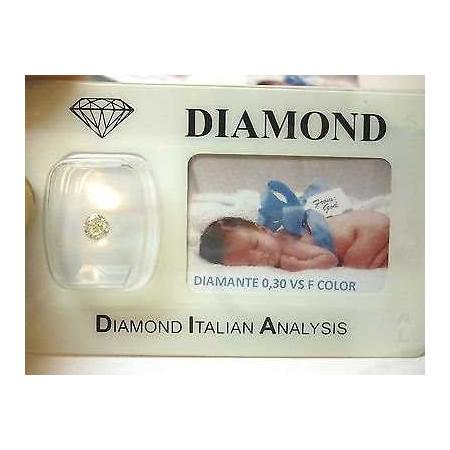 DIAMOND 0.30 vs F color blister customizable gift box