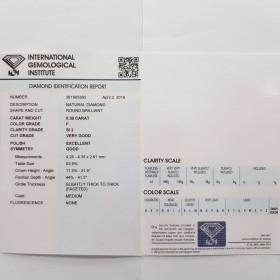 Diamante Certificato IGI 0.30 F SI2 - REP361965895