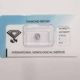 Diamond Certified IGI 0.70 F SI2 Blister - REP361965271