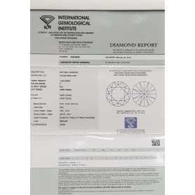 Diamond Certified IGI 1.00 F SI2 - REP355936056