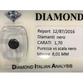 BLACK DIAMOND CARATS 1.70 Carats