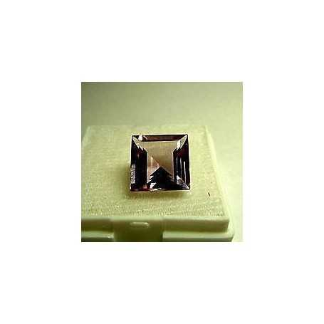 AMETISTA QUADRATO ANTICO 17x17 CT 15.5 TOP COLOR