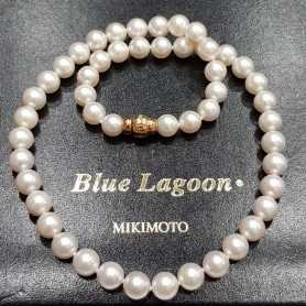 Pearls Blue Lagoon Mikimoto 8.5-9.0 mm - price-List 6.200 €