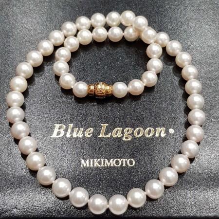 Pearls Blue Lagoon Mikimoto 8.5 - 9.0 mm-price list 6.200 €