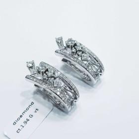 Orecchini Oro e Diamanti 2.00 carati Totali