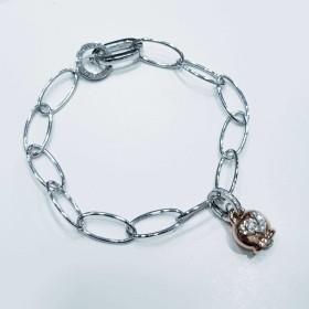 Bracelet, CHANTECLER, avec Pendentif Or et Diamants