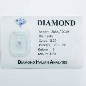 DIAMOND 0.20 CARAT E COLOR VS 1 OFFER 50 % lotto 0.50 0.30 0.20