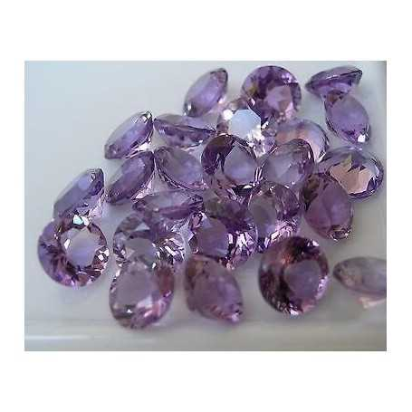 Amethyst BRILLIANT cut, 3.30 size 10 brazil 2.00 3.00 4.00 TOP COLOR