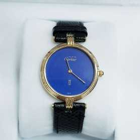 Cartier Vermeil Must 30 mm grande rare