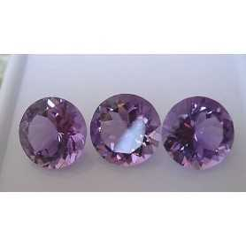 Amethyst BRILLIANT Cut TRILOGY 5.50 Brazil 2.00 3.00 4.00 TOP COLOR