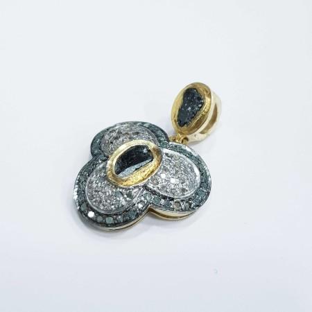 Vintage silver pendant-MOD.14
