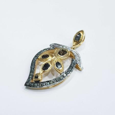 Vintage silver pendant-MOD.29